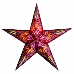 Starlightz Star Jaipur Red Orange